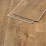 Vinylboden Eiche Caspian Holzstruktur Klicksystem 4,8mm Landhausdiele Vinstar