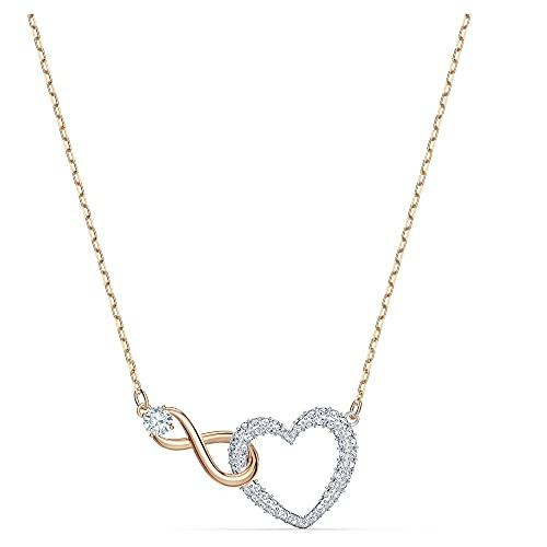 Swarovski Infinity Heart Halskette,...
