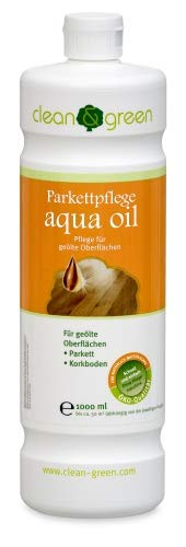 clean & green Parkettpflege aqua oil 1,0...