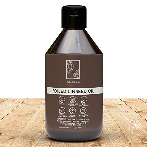 CURA LIGNUM - Hochwertiges Leinenöl...