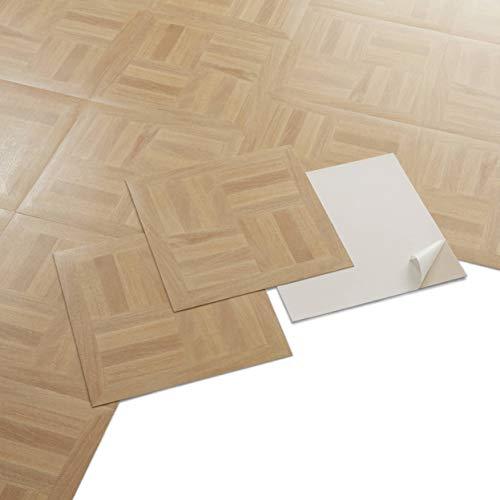 PVC Bodenbelag - Selbstklebende Fliesen...