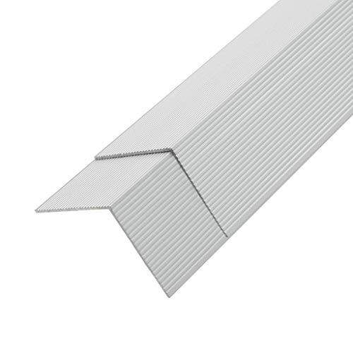 vidaXL 5x Winkelleiste für WPC Dielen...