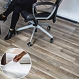 Profolio Bodenschutzmatte transparent | Premium Qualität für Hartböden | größe Wählbar | Schmutzfangmatte für Parkett, Laminat uvm | Sichbar unsichtbar - Made in Germany | 40 x 130 cm